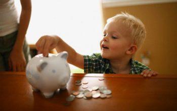 Los niños también pueden aprender a ahorrar