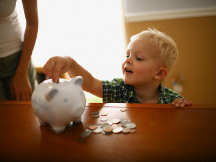 niños ahorro